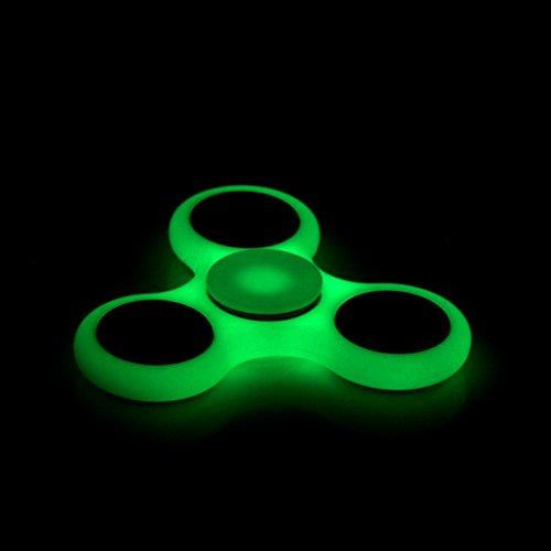 Preisvergleich Produktbild Supplylink Spinner Tri Fidget Hand Spinner Fidget Work Fast Bearings Finger Relieve Stress Toy Luminous Style