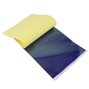 Jessicadaphne 4-lagiges Carbon-Thermoschablonen-Tattoo-Transferpapier Kopierpapier Transparentpapier Professionelles Tattoo-Zubehör