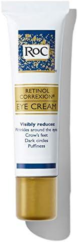 RoC Retinol Correxion Anti-Aging Eye Cream Treatment for Wrinkles, Crows Feet, Dark Circles, and Puffiness .5 fl. oz