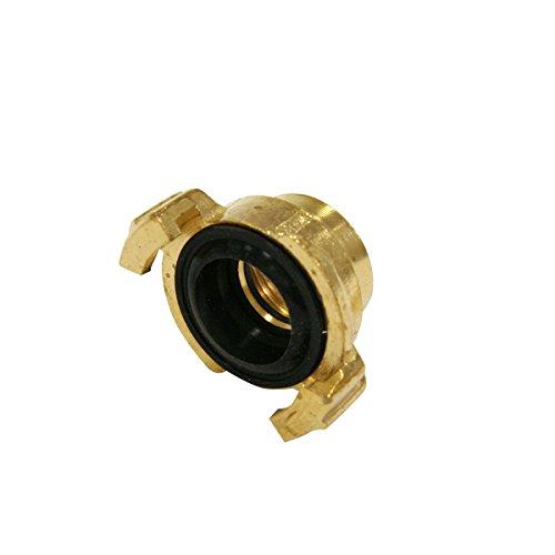 Xclou Raccord fileté pour tuyau d'arrosage - Joint d'étanchéité pour tuyau - Raccord fileté femelle en laiton 19 mm