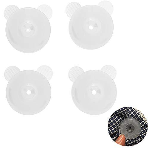 4 Stück/Set Schmuseklammern Bettdecke Donuts Halter halten die Tröster an Ort und Stelle, ohne den Stoff zu beschädigen -