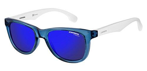 Carrera Junior Unisex-Kinder CARRERINO 20 XT WWK Sonnenbrille, Weiß (WHITEBLUESMBL/BLUE SKY SP), 46