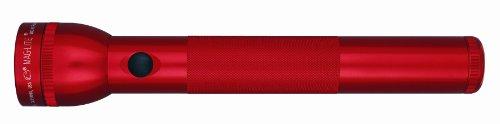 Maglite Standard 3D LED - Linterna de acampada y senderismo, color rojo