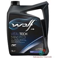 WOLF Olio motore 5 Litri VITALTECH 5W40 PI C3 5L