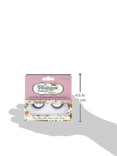 The vintage Cosmetic Company false strip Lashes, Nancy