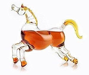 Liquor Karaffen Pferd farblos Prestige-stopper
