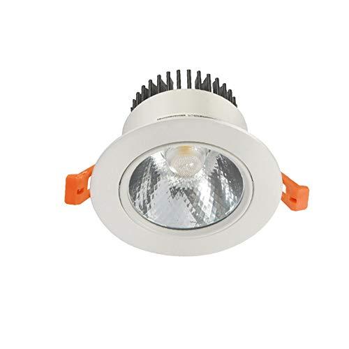 Wlnnes COB LED Sala de estar empotrable Downlight 3W5W7W10W15W 20W30W Luz de...