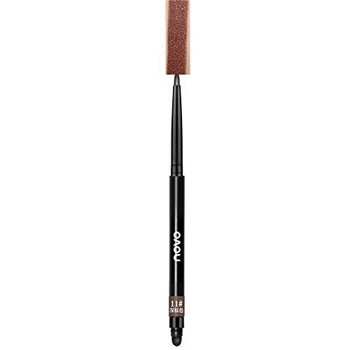DIANDGE Multifunktions Wasserfest Lidschatten Bleistift Kosmetik Eyeshadow Glitter Lidschatten Stift (Mehrfarbig #11)