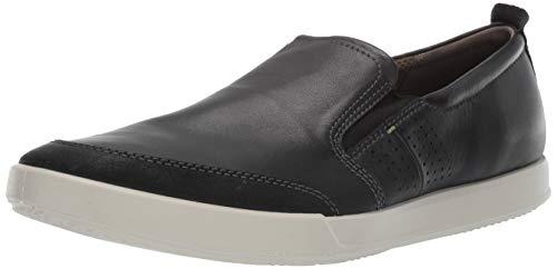 Ecco Herren Collin 2.0 Slip on Sneaker, Schwarz (Black 51052), 42 EU (Ecco Herren Schuhe Slip On Schwarz)