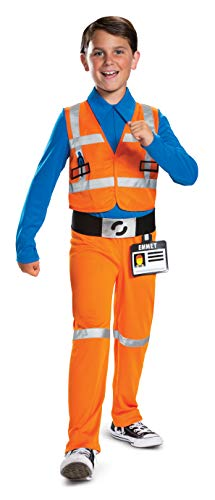 Emmet Kostüm - LEGO 26848L-15L Emmet Jumpsuit (Small), Jungen, Orange