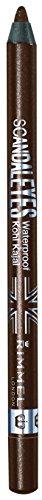 Rimmel - Scandaleyes - Crayon Khôl waterproof pour les yeux Khôl - Marron - 1 -2 g