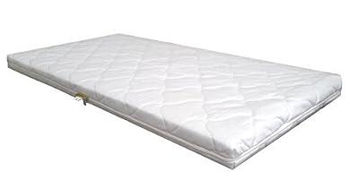 Colchón Bebé Núcleo Espuma Comfort acolchado colchón para bebé colchón 70 x 140 blanco espuma
