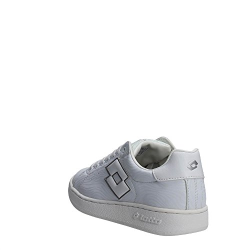 Lotto S7869 Sneakers Femme Cuir Synthetique Blanc Blanc
