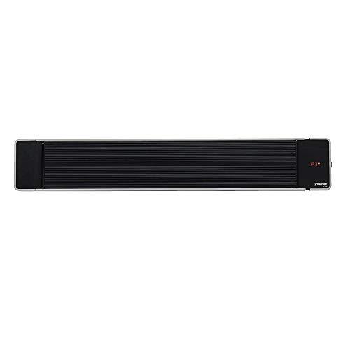 TROTEC Calefactor por radiación de luz negra IRD 1800| Radiador Infrarrojo | Para exteriores | Radiadores...