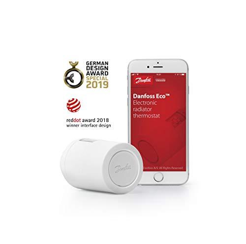 eqiva heizkoerperthermostat model n Danfoss 014G1101 Eco Home- Eletronisches Heizkörperthermostat mit Bluetooth-Funktion; Elektronischer, Programmierbarer Thermostat als Stand-alone-Regler für Einzelne Räume, (für Deutschland).