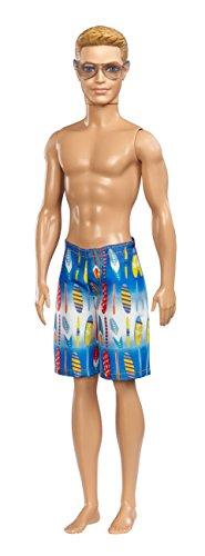Mattel Barbie BCN27 - Puppe, Fab Life Beach Ken Ken Strand Puppe
