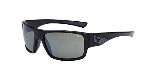 14f0dfe1facc1 Cébé Whisper Lunettes de soleil Shiny Black 1500 Grey AR FM Taille M
