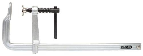 KS Tools 145.0312 Ganzstahl-Schraubzwinge mit Knebel, 120x300mm