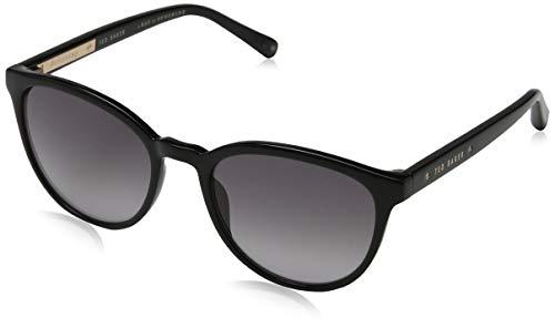 Ted Baker Damen Cecile Sonnenbrille, Schwarz (Black/Grey), 53.0