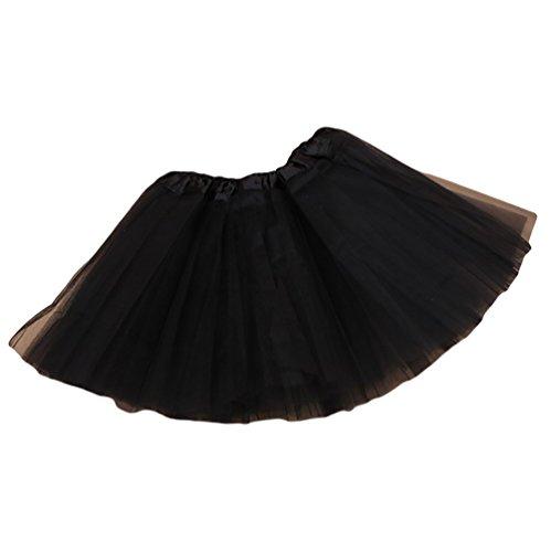 NiSeng Fasching Verkleiden Kinder Mädchen Tüllrock Tütü Tutu Petticoat Ballettkleid Tanzkleid in verschiedenen Farben #8
