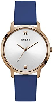 GUESS Women's Stainless Steel Analog Watch with Silicone S
