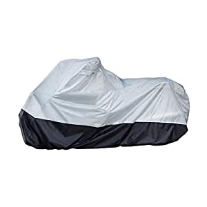 AmazonBasics Motorcycle Cover - XL(Grey and Black)