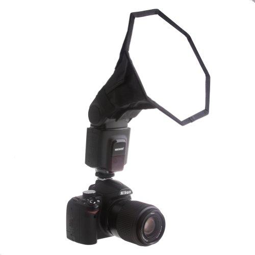 """Neewer® Pro (Pro Version von Neewer® Produkt) 6 """"/ 15cm Universal-Es ist FaltbareOctagon-Studio Softbox Blitz-Diffusor für auf Kamera oder Aus Blitzpistole , für Canon 430EX II, 580EX II, 600EX-RT, Nikon SB600 SB800 SB900, Neewer TT560 , TT680, tt850, TT860, Youngnuo YN560, YN565, YN568, Vivita Blitz Sunpack, Sunpak, Nissin, Sigma, Sony, Pentax, Olympus, Panasonic Lumix Blitze mit einer Tragetasche"""