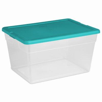 Sterilite Aufbewahrungsbox, 56 l, Seegrün (Sterilite Aufbewahrungsbox)