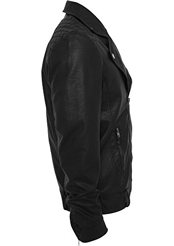 Urban Classics Jacke Biker Jacket schwarz