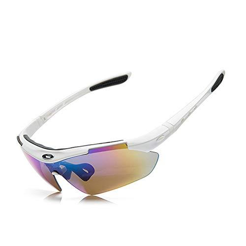 Taidallo-G Polarisation Radfahren Brille Outdoor Sports Angeln Brille Ausrüstung Sport Augenschutz Brille Augen perfekt schützen (Farbe : D) -