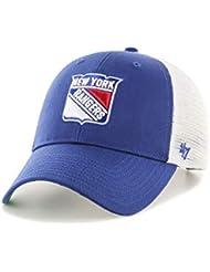 release date: 6f636 77bcd  47 Brand NHL New York Rangers MVP Trucker Branson Cap Men Blue