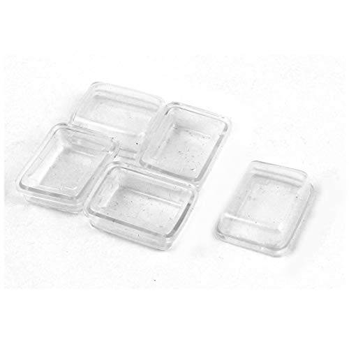 Rectangle Rocker Switch (ZCHXD 5 Pcs White Clear Silicone Waterproof Rocker Switch Protect Cover Rectangle Cap)