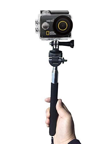 National Geographic Full-HD WLAN Action Camera, 140°, 30m wasserdicht mit 2