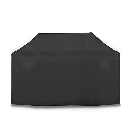JIANFEI Housse Protection Salon De Jardin Anti-soleil Imperméable Polyester Matériel, 2 Tailles (Couleur : NOIR, taille : 170x61x117cm)