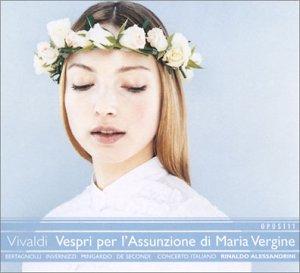 Vivaldi - Vespri per l'Assunzione di Maria Vergine (SACD hybride)