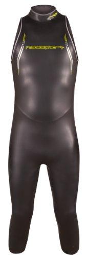 NeoSport pour Homme John 5/3mm plongée de Triathlon, Homme, Noir/Vert anis