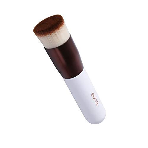 Amazon Brand: Eono Essentials Pinceaux Maquillage Fond de teint plat pour le polissage, le polissage, le correcteur de teint