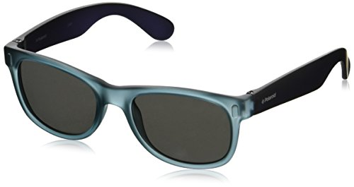 Polaroid - P0115 - Sonnenbrille Kinder Rechteckig - Leichtes Material - Polarisiert 100% UV400 schutz - Schutzkasten inklusiv