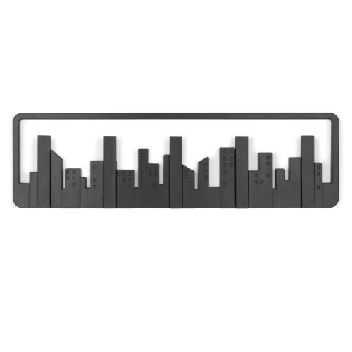 Umbra 318190-040 Percha pared Skyline Multi Negro