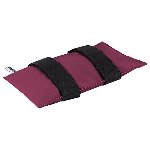 Sandsack Sandsäckchen Gewichtsäckchen mit Klettband 34x18 cm, 3 kg, Pink