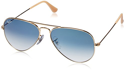 Ray-Ban Aviator Sunglasses (Golden) (RB3025|001/3F62)