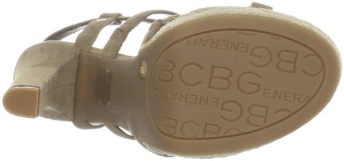 BCBGeneration Baileys Femmes Daim Sandales Light Taupe