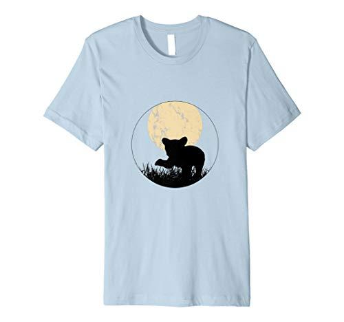 Kleiner Bär T-Shirt I Mond Nachtlicht I Der -
