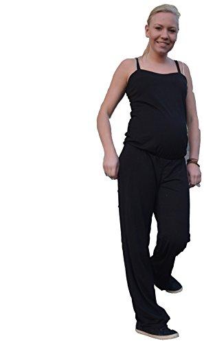 Umstandsoverall mit Elastan, perfekter Sitz und großer Tragecomfort Tanktop mit Shirt Umstands overall schwarz