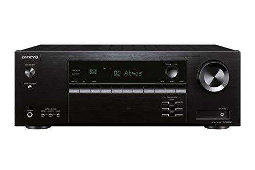 Onkyo TX-SR494(B) - Receptor AV 7.2 Canales (Dolby/DTS:X, AccuEQ, AccuReflex, 4K, Bluetooth, 160 W/Canal), Color Negro
