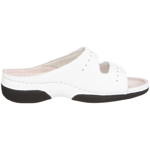 Berkemann Brisbane Jeanett 01515, Chaussures femme blanc (blanc)