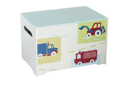 Worlds Apart Boys Wooden Toy Box