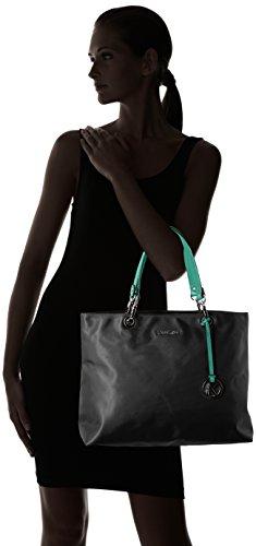 Kesslord Fiona, Sac porté épaule Multicolore (Noir/Menthol)