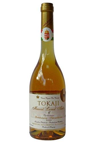 Tokaji Aszu 6 Puttonyos - PAULECZKI-Vin - Jahrgang 2000, Dessertwein aus Ungarn, Weißwein, Süß,...