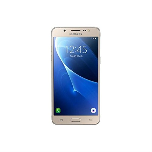 Samsung Galaxy J5 Smartphone (2016) Gold – 5.2 '/13.22 cm HD Cam 13/5MP – QC 1.2 GHz – 16 GB – 2 GB RAM – 4 G – Dual SIM – Android – BT BAT 3100 mAh
